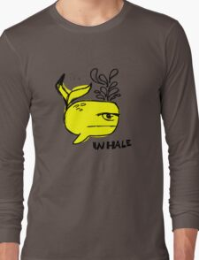 Whale and Sabet collaboration t-shirt Long Sleeve T-Shirt