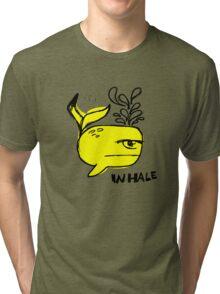 Whale and Sabet collaboration t-shirt Tri-blend T-Shirt