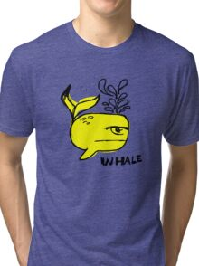 Whale and Sabet collaboration t-shirt Tri-blend T-Shirt