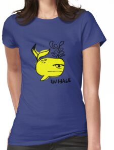 Whale and Sabet collaboration t-shirt Womens Fitted T-Shirt