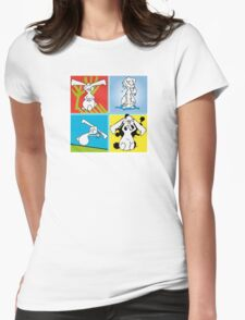 Funny Bunny Womens Fitted T-Shirt