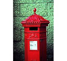 Post Box Photographic Print