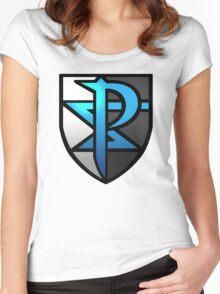 Team Plasma  Women's Fitted Scoop T-Shirt