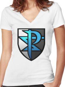 Team Plasma  Women's Fitted V-Neck T-Shirt