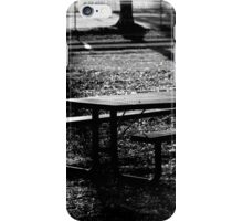 Spooky Bench iPhone Case/Skin
