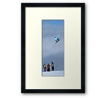 Just another day in the park Framed Print