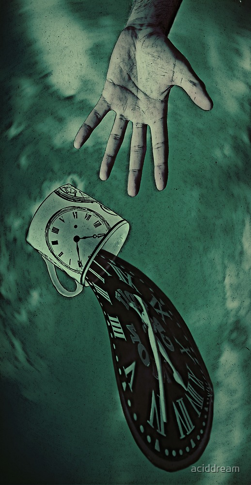 Spilling Time by aciddream