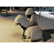 Snow News is Good News Photographic Print