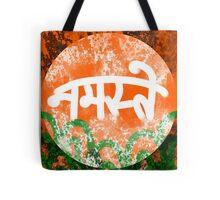'Namaste' Hindi Greeting Tote Bag