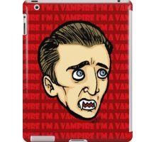 I'm a vampire! iPad Case/Skin