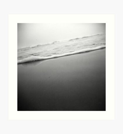 waves through a holga Art Print
