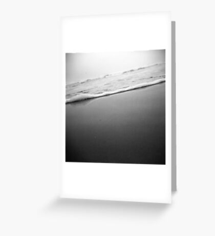 waves through a holga Greeting Card