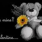 valentines card by Justine Devereux-Old