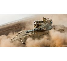 """Duststorm""  - IDF Tank Photographic Print"
