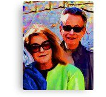 Vlima & Jer Canvas Print