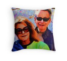 Vlima & Jer Throw Pillow