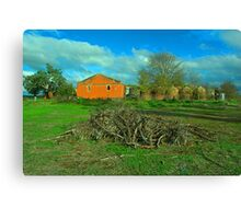 Old winery Canvas Print