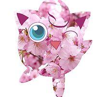 Sakura Jigglypuff by furandesu