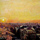 Washington D.C. sunrise by moguesy