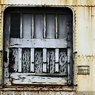White Train Door by Larry Costales