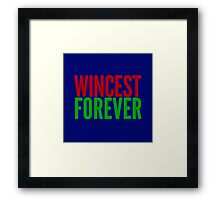 Ship Loyalty - Wincest by @I_am_the_Impala on Twitter Framed Print