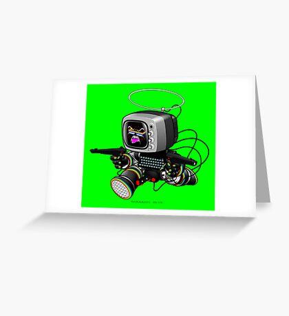 ZED HEX v1.6 Greeting Card