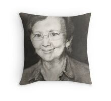She's crazy about Elvis Throw Pillow