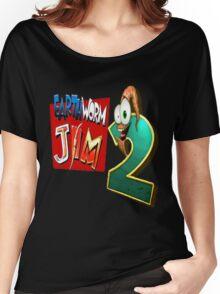 Earthworm Jim - EWJ2 Logo Women's Relaxed Fit T-Shirt