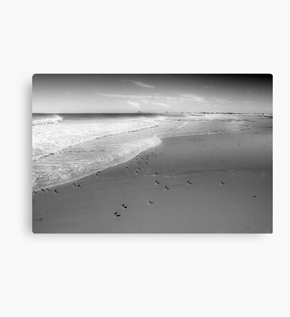 The City By the Sea Canvas Print