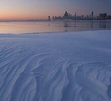 Snow Drift and skyline by Sven Brogren