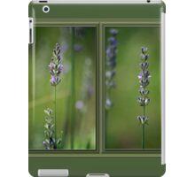 Lyrical Lavender Diptych iPad Case/Skin
