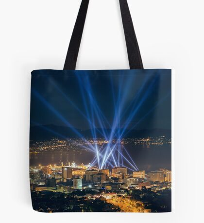 Articulated Intersect Over Hobart Tote Bag