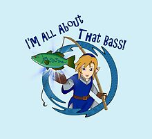 All About That Bass - Link Blue by GeekyAngel