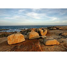 Coastal Sculptures Photographic Print