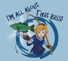 All About That Bass - Link Blue T-Shirt
