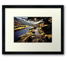 Pathway to Watendlath Tarn, Cumbria. UK Framed Print