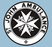 TARDIS St. John's Ambulance Logo (available as leggings!) Kids Tee