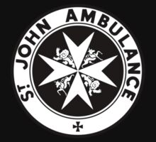 TARDIS St. John's Ambulance Logo (available as leggings!) One Piece - Short Sleeve