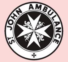 TARDIS St. John's Ambulance Logo (available as leggings!) One Piece - Short Sleeve