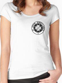 TARDIS St. John's Ambulance Logo (available as leggings!) Women's Fitted Scoop T-Shirt