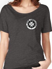 TARDIS St. John's Ambulance Logo (available as leggings!) Women's Relaxed Fit T-Shirt
