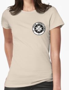 TARDIS St. John's Ambulance Logo (available as leggings!) Womens Fitted T-Shirt
