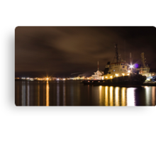 Tugged In For The Night Canvas Print