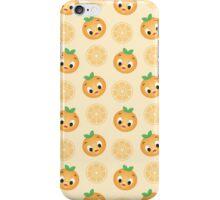 Orange Bird Pattern iPhone Case/Skin
