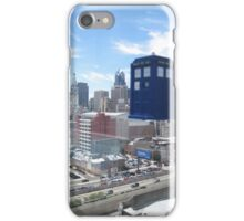 TARDIS Over Philly iPhone Case/Skin