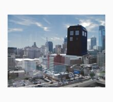TARDIS Over Philly One Piece - Long Sleeve