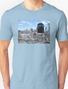 TARDIS Over Philly Unisex T-Shirt