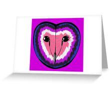 Gender fluid pride owl Greeting Card