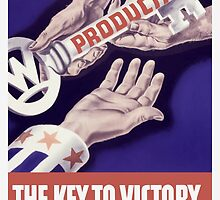 Production The Key To Victory -- WW2 by warishellstore