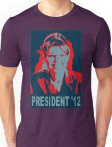 Sarah Palin President '12 Unisex T-Shirt